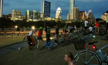 Thursday Night Social Ride, Austin, Texas