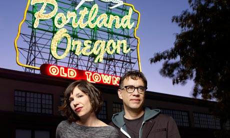 Carrie Brownstein and Fred Armisen, Portlandia