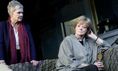 Judi Dench and Maggie Smith - two of the three women on the list ...