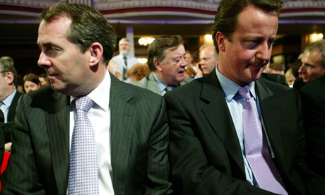 Liam Fox and David Cameron