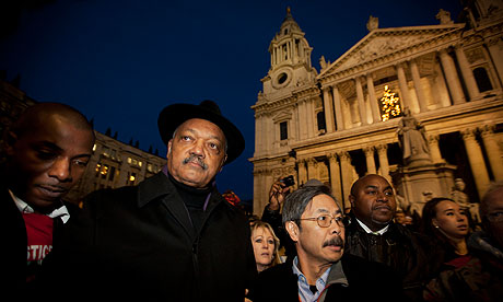jesse jackson occupy london