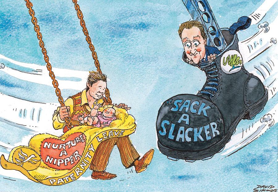 dysfunctional family cartoon. Cartoon by Dave Simonds