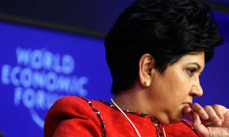 Indra Nooyi at Davos