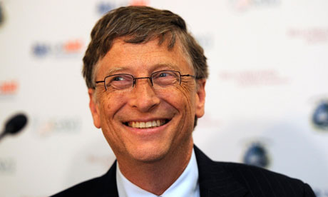 Billionaire philanthropist Bill Gates