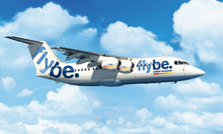 Flybe BAe 146 aircraft