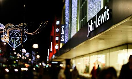 John Lewis Christmas sales