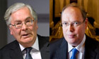 Mervyn King left Andrew Sentance right