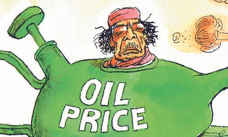 Oil price Dave Simonds
