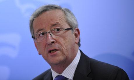 Eurogroup president Jean-Claude Juncker