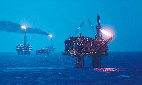 North Sea oil revenues