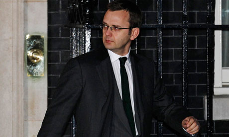 andy coulson security clearance