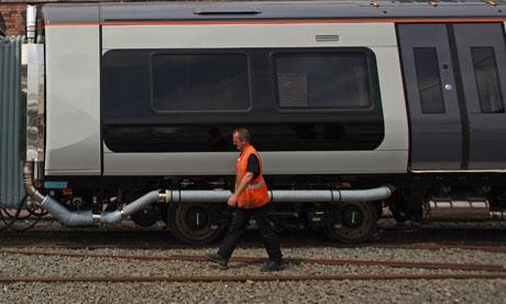 Bombardier factory in Derby