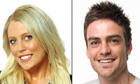 2Day FM's Mel Greig (left) and Michael Christian.