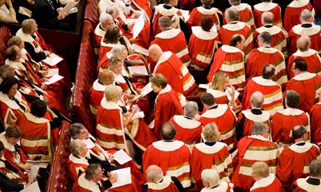 Lords At State Opening of Parliament