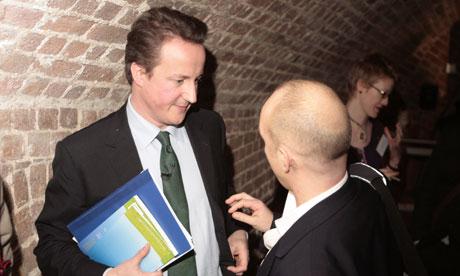 David Cameron with Steve Hilton