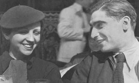 Gerda Taro and and Robert Capa