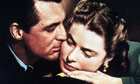 Cary Grant and Ingrid Bergman in Notorious