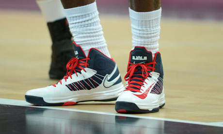 Lebron james shoes olympics
