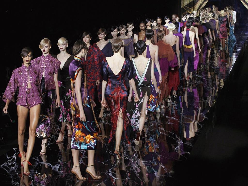 Marc Jacobs for Louis Vuitton Paris fashion week