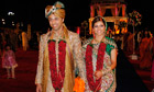 Anni Dewani and husband Shrien at their wedding night