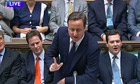 David Cameron Prime Ministers questions