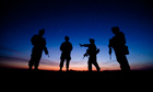 US soldiers pursue militants in Helmand province