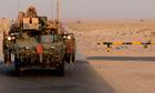 U.S. Army Iraqi border Kuwait