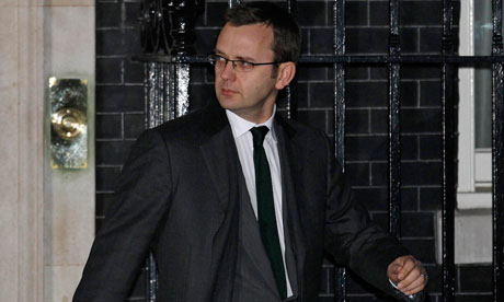 Andy Coulson leaves number 10 Downing Street