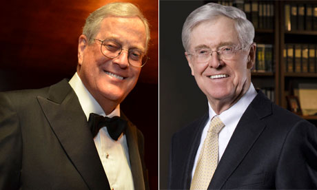David Koch and Charles G. Koch of Koch Industries, Inc
