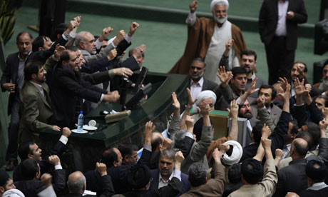 Members of the Iranian parliament call for the execution of opposition leaders