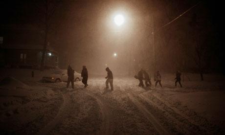 snow storm in iowa city