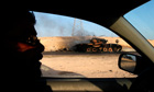libya today: Libyan rebels on the road to  Sirte