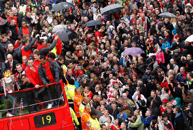 Man United Champions parade