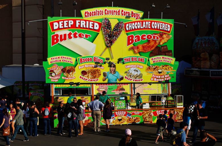 In case you wondered how weird american food can get for American cuisine san diego