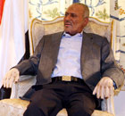Yemeni President Ali Abdullah Saleh holds talks with John Brennan in Riyadh, Saudi Arabia