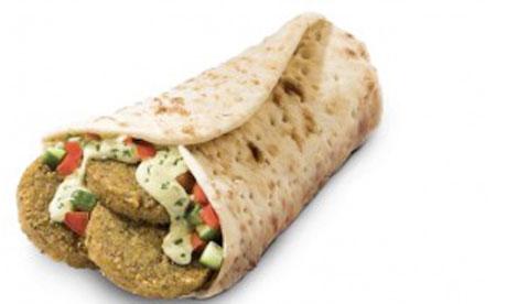 The McFalafel, served in McDonalds in Israel