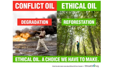 Canadian campaign puts the spin on 'ethical oil'