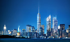 Latest design for the new World Trade Center buildings