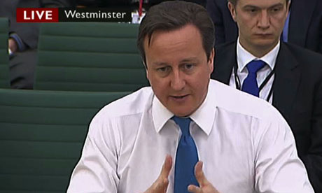 David Cameron answers questions on the situation in Syria from the liaison committee of MPs