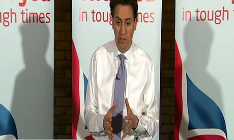 David Miliband speaks in Essex