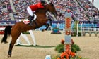 Steve Guerdat wins the Equestrian Jumping Individual gold medal on Nino Des