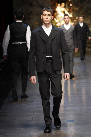 Dolce & Gabbana Fall/Winter 2013-14 collection at Milan fashion week