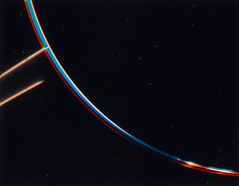 The rings of Jupiter photographed by Voyager 2, 1979
