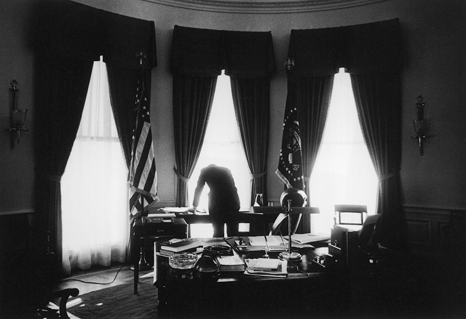 jfk in oval office. Resident John F. Kennedy In The Oval Office, May 1961 Jfk Office