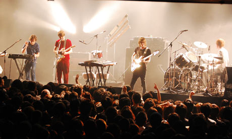 Late of the Pier live in Japan