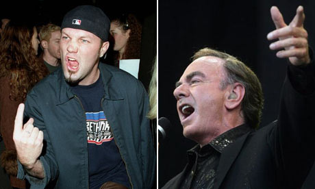 Fred Durst and Neil Diamond