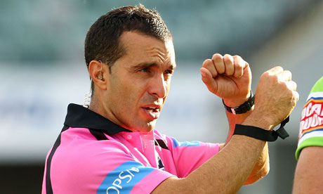 Australian Matt Cecchin to referee Four Nations final against England