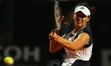 Laura Robson to face Caroline Wozniacki in French Open first round
