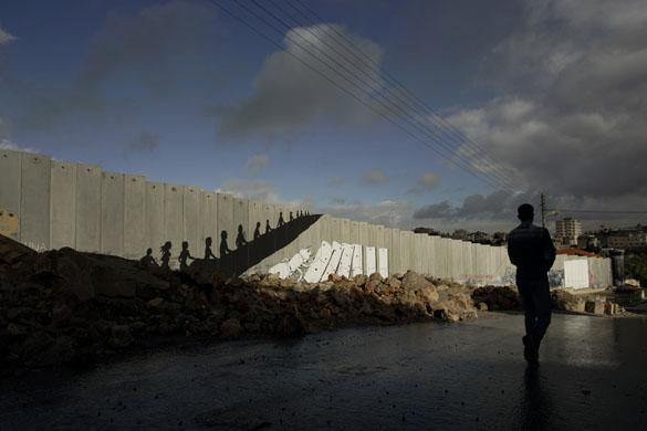 رسومات الجدار الاسرائيلي