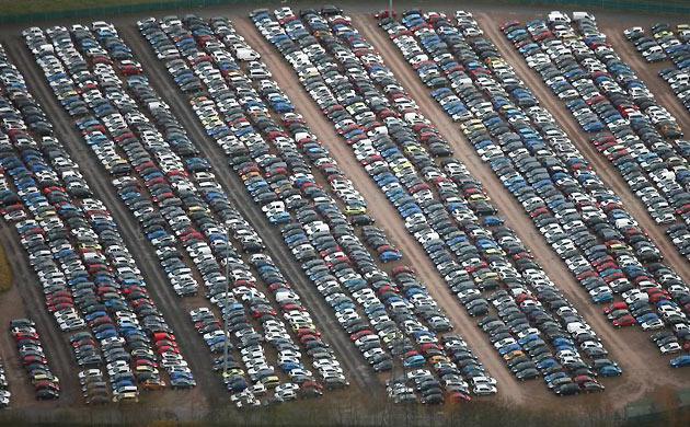 Las Vegas Auto Sales >> The Sprawl of Unsold Cars - News   Planetizen